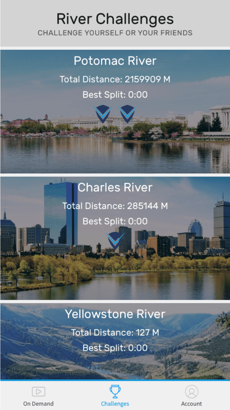 Mobile River Challenge View